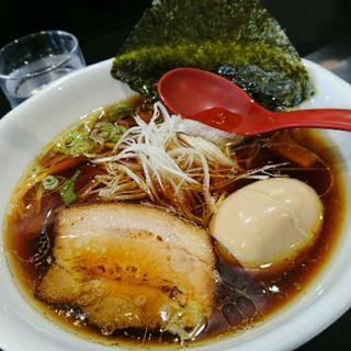 生醤油味玉麺(天国屋 )