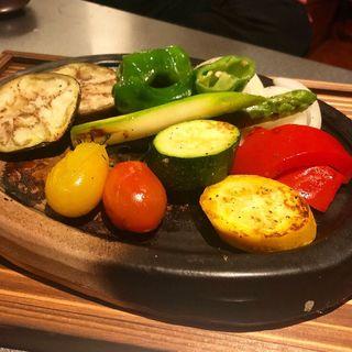 色々野菜のグリル(棲家 三条)