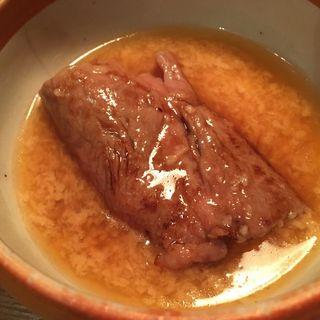 サーロイン矢澤焼き(こだわり卵つき) 1枚(焼肉 矢澤 )