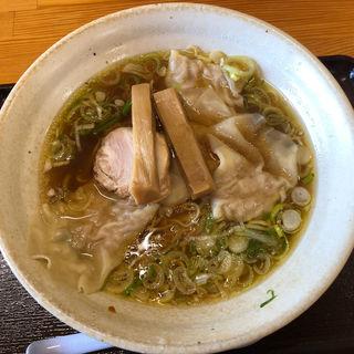 ワンタン麺(中華そば 弥太郎 )