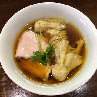 鶏そば・ワンタン(らぁめん サンド)
