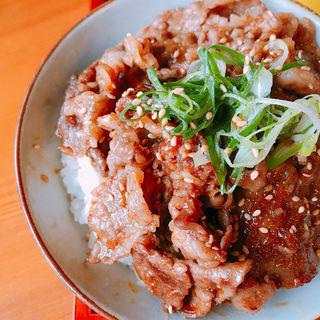 松阪牛丼(野あそび棚 )