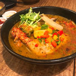 チキンと野菜のスープカレー(薬膳スープカレー・シャナイア (Shania))