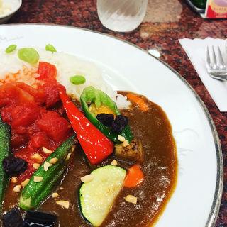 夏野菜カレー(サンマルコ 三番街店 )