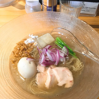限定 煮干し冷やしらぁ麺お茶漬けセット(麺屋さくら井)