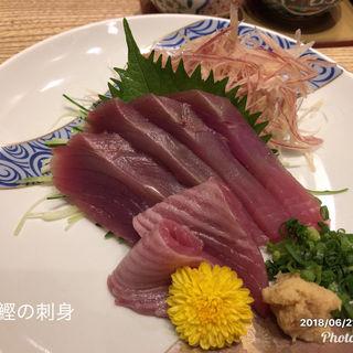 鰹の刺身(金沢まいもん寿司 珠姫 (たまひめ))