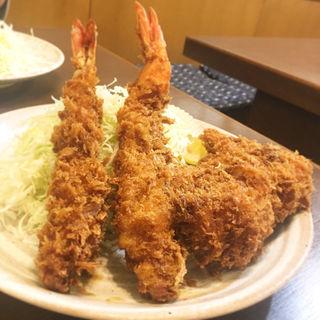 Cセット定食(おおみや )