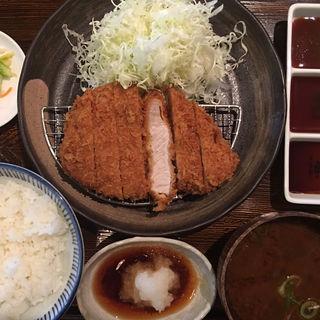 ロースカツ定食(とんかつ マ メゾン 東桜店 (MA MAISON))