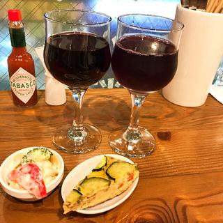 梅酒赤ワイン(立飲みワイン酒場 瓶(ボトル) )