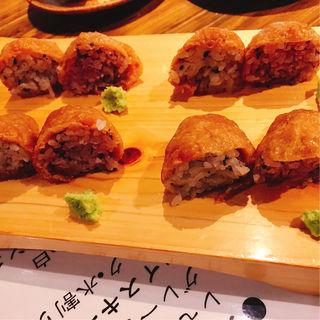 いなり寿司(和食 縁 蕎麦切り (ワショク エニシ ソバキリ))