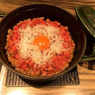 ユッケご飯(焼肉ジャンボ 本郷店 )