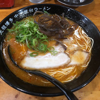 辛味噌ラーメン(元祖 中洲屋台ラーメン 一竜 川端商店街本店 )