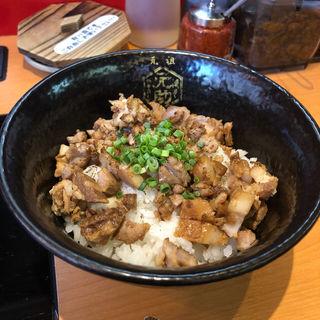 肉丼(博多元助 薬院本店)