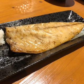 ほっけの塩焼き(赤のれん&とん吉 箱崎総本店)