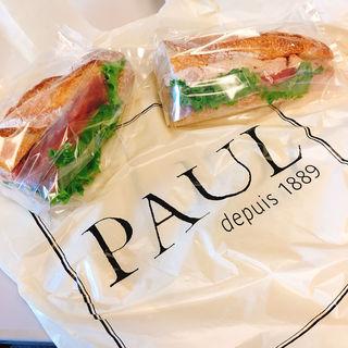 アンシェン・トン 1/2 Sandwich ton(PAUL 品川駅店 (ポール))