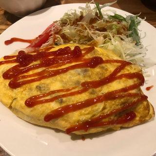 野菜たっぷりオムレツ(シュガー・プラム サンジュウサン)
