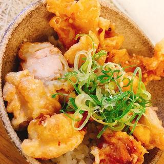 鶏天小丼(築港麺工房 (チッコウメンコウボウ))