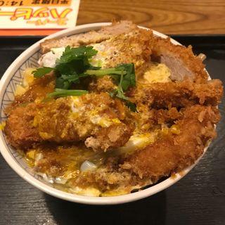 かつ丼 かつW(単品)(夢庵 小平店 )