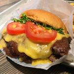 shack burger(SHAKE SHACK 東京国際フォーラム店)
