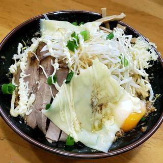 あぶら麺(味噌・チーズ)(麺 まる井 (めん まるい))