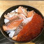 サーモンいくら丼(魚楽 )