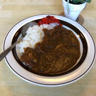 カレーライス(喫茶と食事 米山)