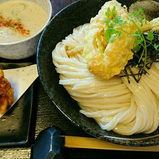 海老白湯つけ麺(荒木伝次郎 )