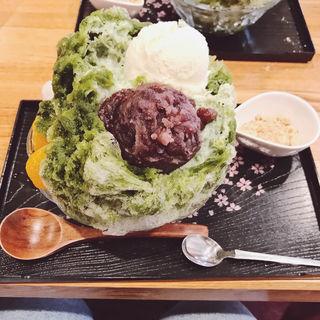 かき氷 宇治抹茶(七つの海 )