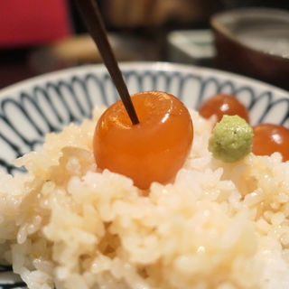 濃厚漬けたまごかけご飯(炭トリウオ ハナレ )