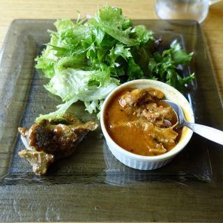 前菜とサラダ(肉とスパイス JINDARI)