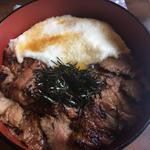 炭焼きカルビトロロ丼