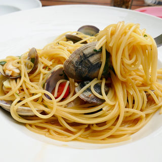 Spaghetti Vongole(Leonard da Vinci)