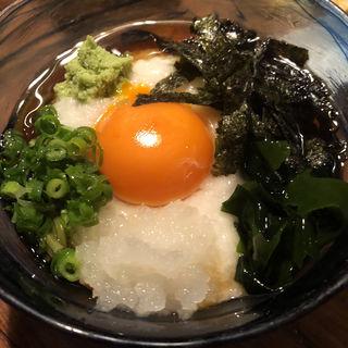 茶そば(炭焼 もくもく (スミヤキ モクモク))