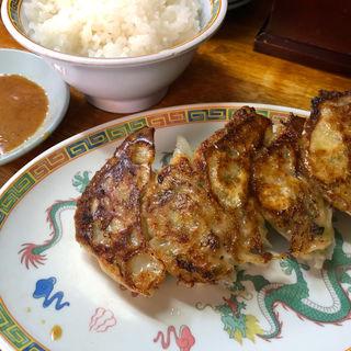 Aセット(みそラーメン+餃子+ご飯)(みそラーメンさつき )