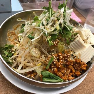 冷やし坦々麺(野郎ラーメン 浅草橋店)