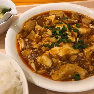 麻婆豆腐ごはん(上海大飯店 (シャンハイダイハンテン))