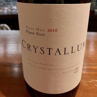 Crystallum Peter Max Pinot Noir(Wine & Bar Oka)