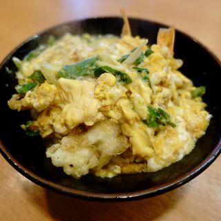天丼卵かけ(力餅 アベノ店 )