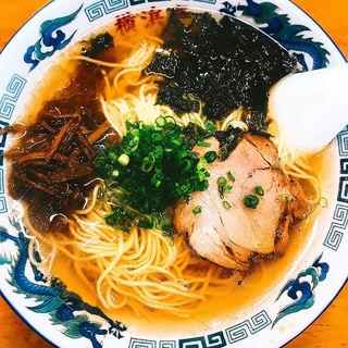醤油ラーメン(横浜亭 )