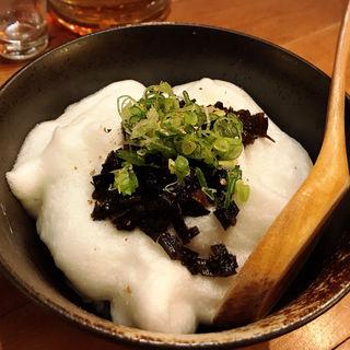 佃煮山椒たまごかけご飯(酒肴 かおりぐさ)
