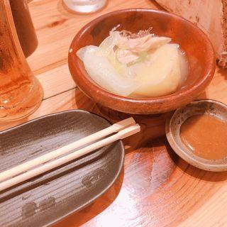 タッカンマリ鍋(佐賀県三瀬村 ふもと赤鶏 馬喰町店 )
