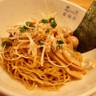 油そば+辛ネギTP(米風亭 アマノ)