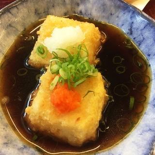 揚げ出し豆腐(ほとめき庵)