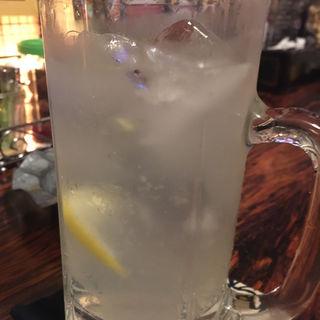 レモンサワー(藤本食堂)