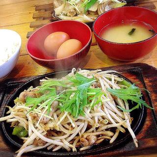 鶏焼き定食(青空食堂)
