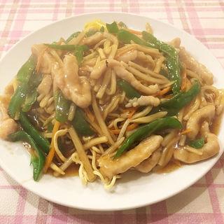 豚肉焼きそば(中国料理 東方餐廳 (トウホウサンチョウ))