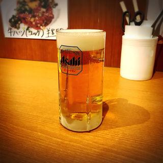 生ビール(炭火焼まるは)