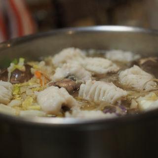 はも鍋(泳ぎいか・ふぐ・いわし・大阪懐石料理・遊食遊膳 笹庵 (ささあん))
