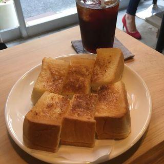 バタートースト(菊しんコーヒー)
