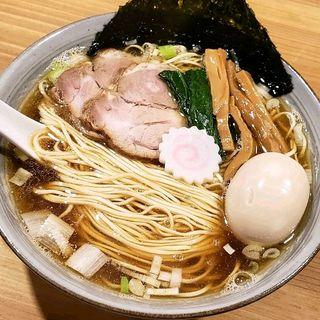 だしそばしょうゆ(味玉)(だし麺未蕾)
